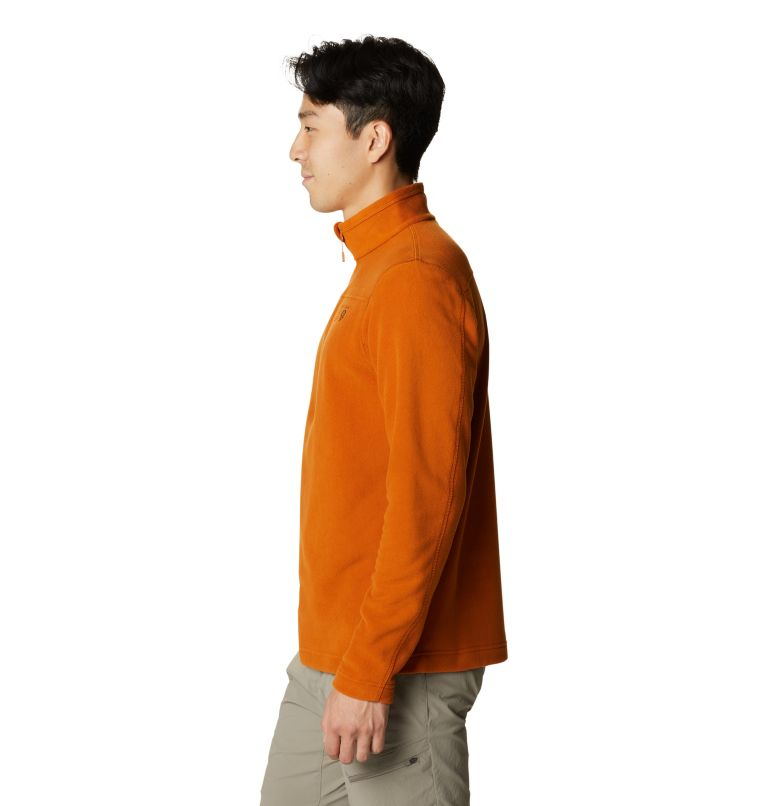 Microchill™ 2.0 Zip T | 841 | L Men's Microchill™ Pullover, Bright Copper, a1