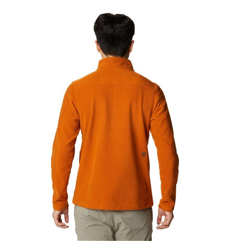 Microchill™ 2.0 Zip T | 841 | XL Men's Microchill™ 2.0 Zip T-Shirt, Bright Copper, back