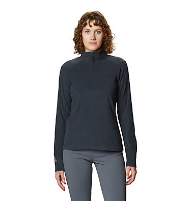 Women's Microchill™ 2.0 Zip T-Shirt Microchill™ 2.0 Zip T | 022 | S, Dark Storm, front