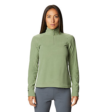 Women's Microchill™ 2.0 Zip T-Shirt Microchill™ 2.0 Zip T | 022 | S, Field, front