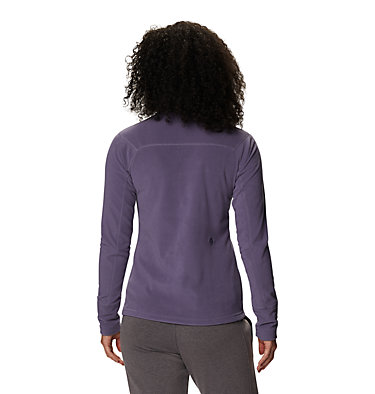 Women's Microchill™ 2.0 Zip T-Shirt Microchill™ 2.0 Zip T | 022 | S, Dusted Sky, back