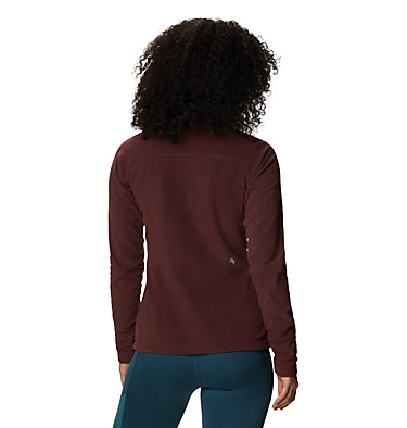 Women's Microchill™ 2.0 Zip T-Shirt Microchill™ 2.0 Zip T | 022 | S, Washed Raisin, back