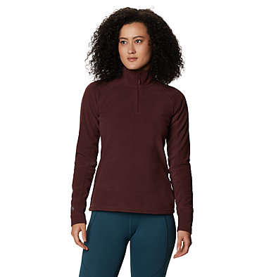 Women's Microchill™ 2.0 Zip T-Shirt Microchill™ 2.0 Zip T | 022 | S, Washed Raisin, front