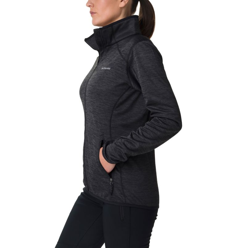 Sapphire Trail™ Fleece Jacket | 010 | M Giacca in pile full zip Sapphire Trail™ da donna, Black, a1