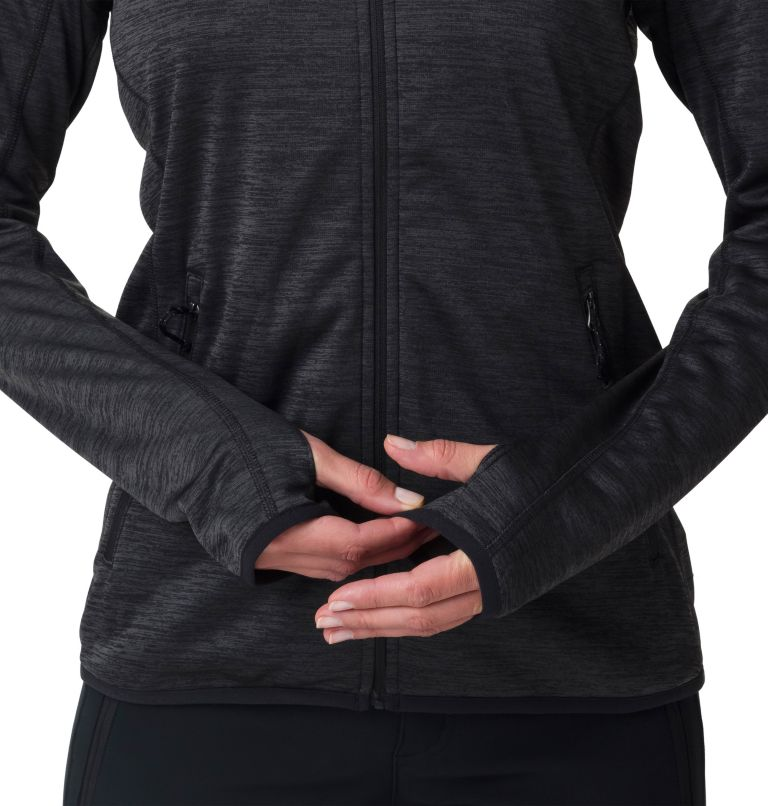 Sapphire Trail™ Fleece Jacket | 010 | M Giacca in pile full zip Sapphire Trail™ da donna, Black, a2