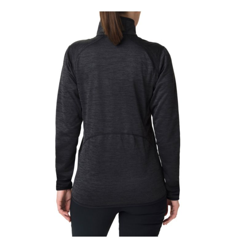 Sapphire Trail™ Fleece Jacket | 010 | M Giacca in pile full zip Sapphire Trail™ da donna, Black, back