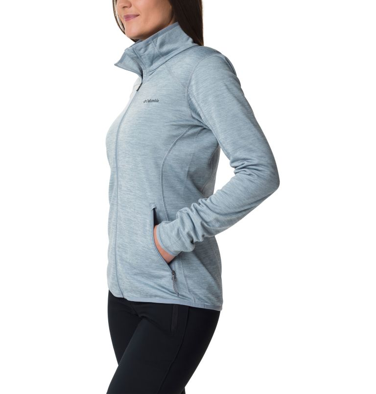 Sapphire Trail™ Fleece Jacket | 032 | L Giacca in pile full zip Sapphire Trail™ da donna, Tradewinds Grey, a1