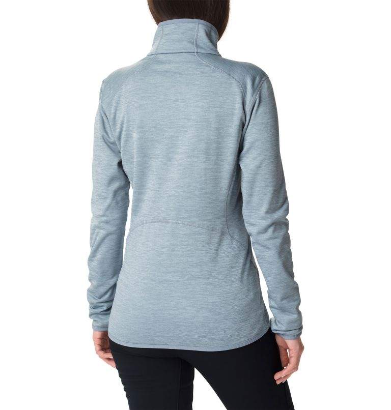 Sapphire Trail™ Fleece Jacket | 032 | L Giacca in pile full zip Sapphire Trail™ da donna, Tradewinds Grey, back