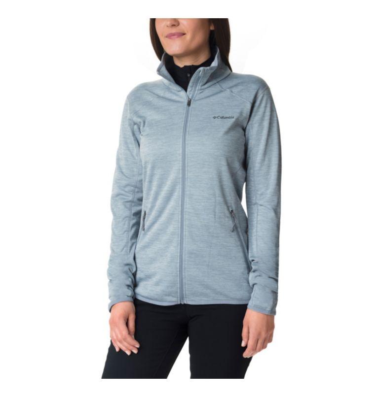 Sapphire Trail™ Fleece Jacket | 032 | XL Giacca in pile full zip Sapphire Trail™ da donna, Tradewinds Grey, front