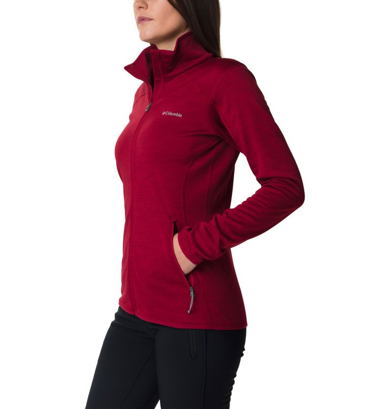 Sapphire Trail™ Fleece Jacket | 607 | M Giacca in pile full zip Sapphire Trail™ da donna, Beet, a1