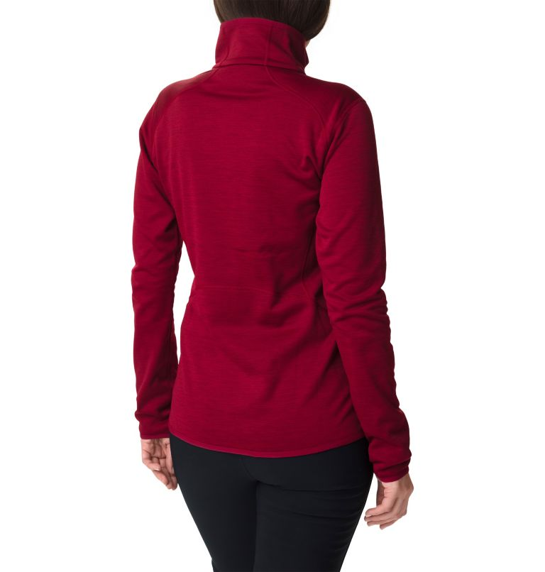 Sapphire Trail™ Fleece Jacket | 607 | M Giacca in pile full zip Sapphire Trail™ da donna, Beet, back