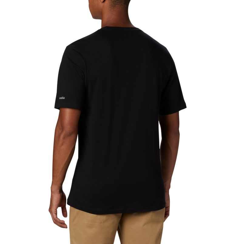 CSC Basic Logo™ Short Sleeve | 010 | XL Men's CSC Basic Logo™ Short Sleeve, Black, back