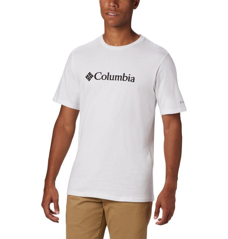 CSC Basic Logo™ Short Sleeve | 100 | M Men's CSC Basic Logo™ Short Sleeve, White, front