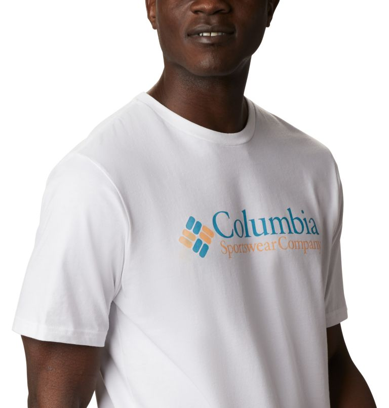 CSC Basic Logo™ Short Sleeve   101   S Men's CSC Basic Logo™ Short Sleeve, White Icon, a3