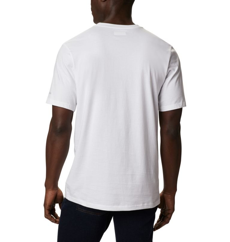 CSC Basic Logo™ Short Sleeve | 101 | XL Men's CSC Basic Logo™ Short Sleeve, White Icon, back