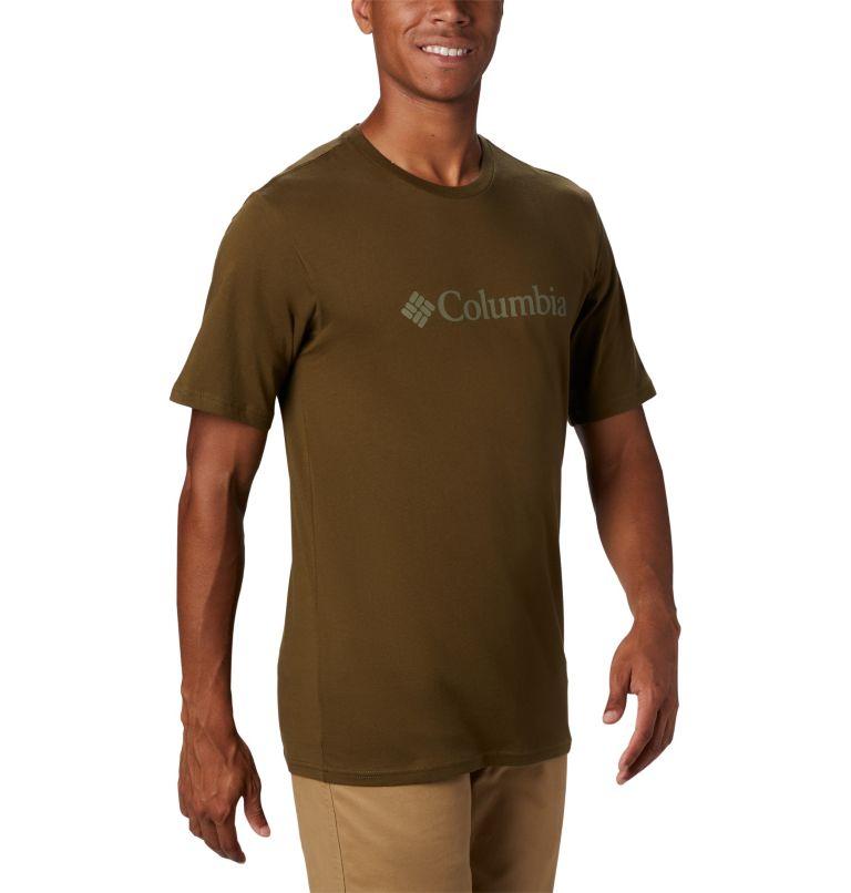 CSC Basic Logo™ Short Sleeve | 327 | S Men's CSC Basic Logo™ Short Sleeve, New Olive, a2