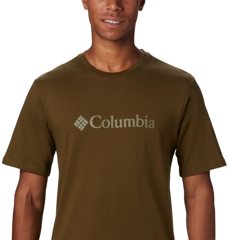 CSC Basic Logo™ Short Sleeve | 327 | XL Men's CSC Basic Logo™ Short Sleeve, New Olive, a3