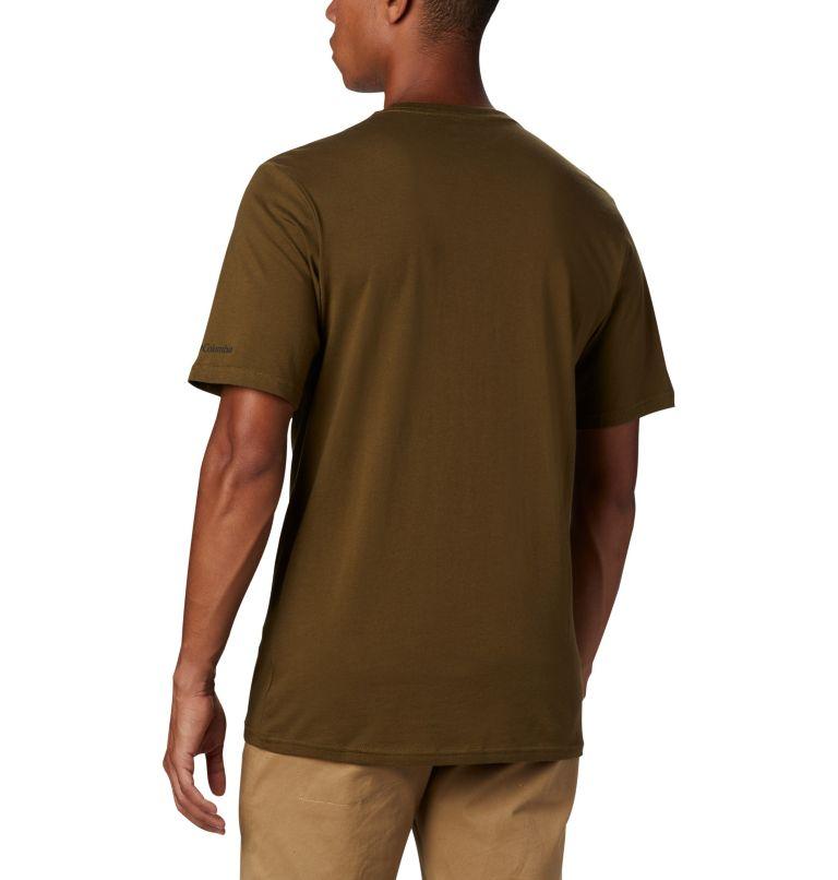 CSC Basic Logo™ Short Sleeve | 327 | XL Men's CSC Basic Logo™ Short Sleeve, New Olive, back