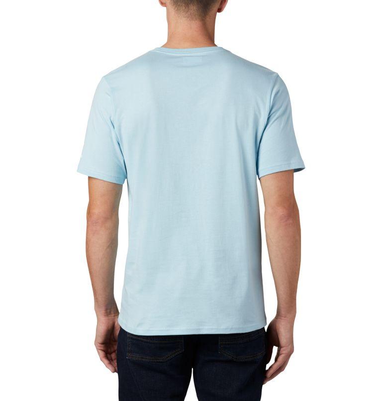 CSC Basic Logo™ Short Sleeve | 427 | XL Men's CSC Basic Logo™ Short Sleeve, Sky Blue, back