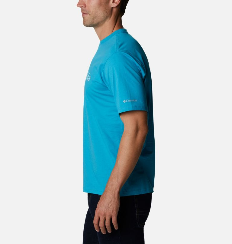 CSC Basic Logo™ Short Sleeve | 450 | S Men's CSC Basic Logo™ Short Sleeve, Clear Water, a1