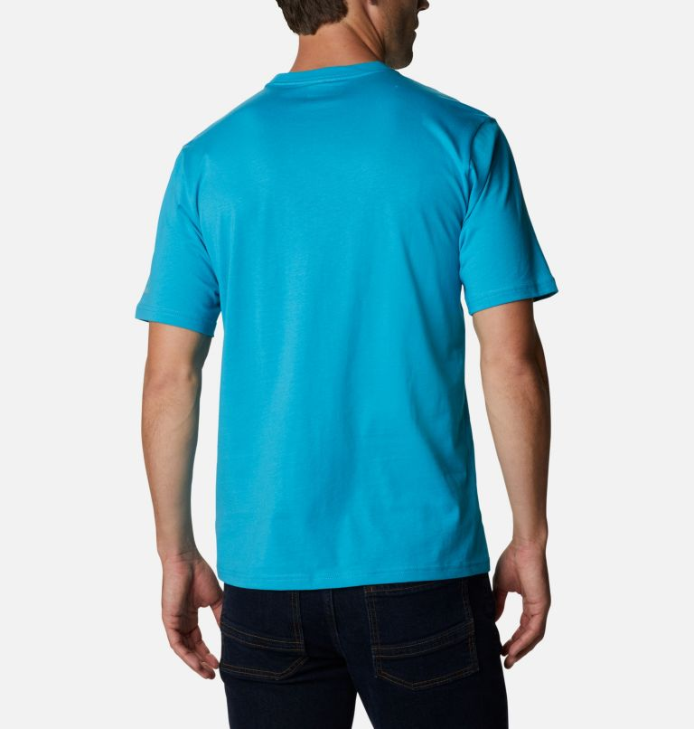 CSC Basic Logo™ Short Sleeve | 450 | S Men's CSC Basic Logo™ Short Sleeve, Clear Water, back