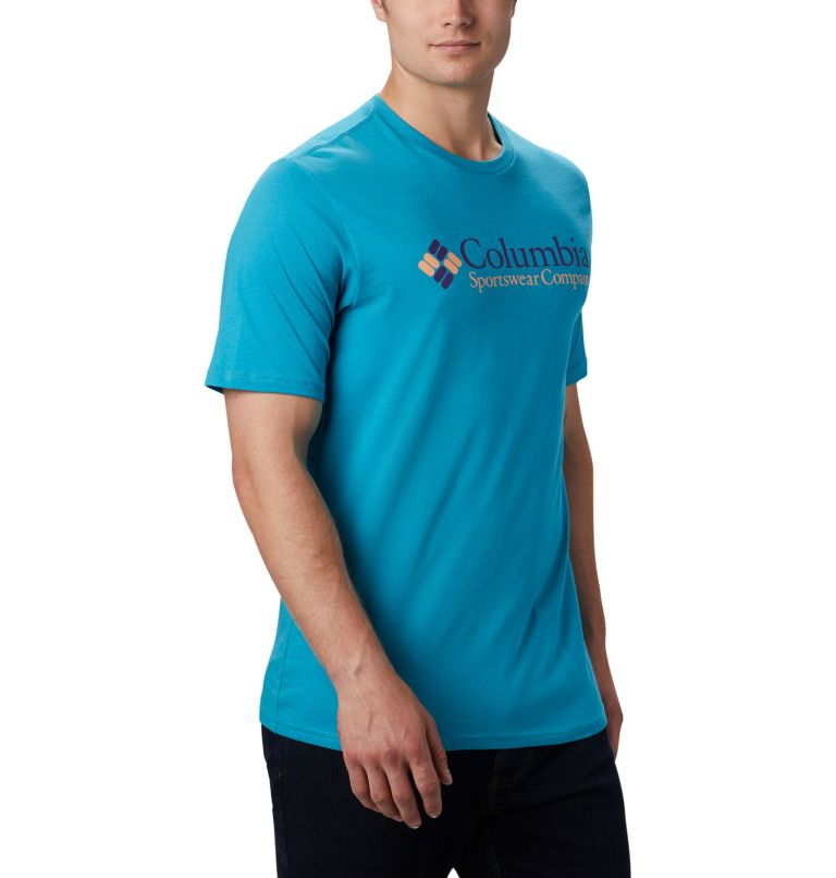 CSC Basic Logo™ Short Sleeve | 451 | S Men's CSC Basic Logo™ Short Sleeve, Clear Water Icon, a3