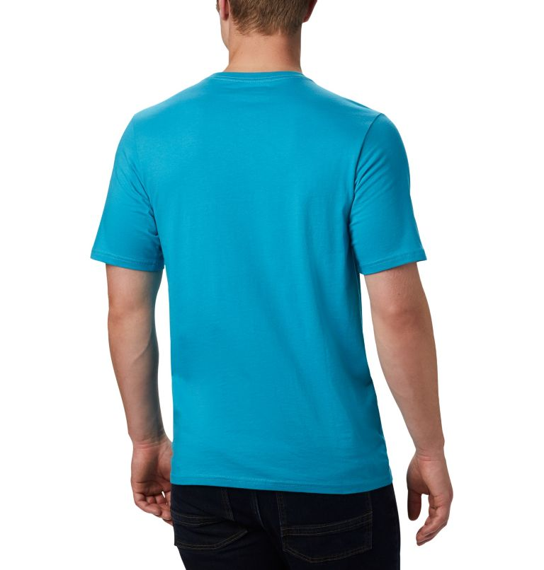 CSC Basic Logo™ Short Sleeve | 451 | L Men's CSC Basic Logo™ Short Sleeve, Clear Water Icon, back