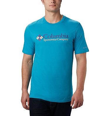 Men's CSC Basic Logo™ Short Sleeve CSC Basic Logo™ Short Sleeve | 103 | XL, Clear Water Icon, front