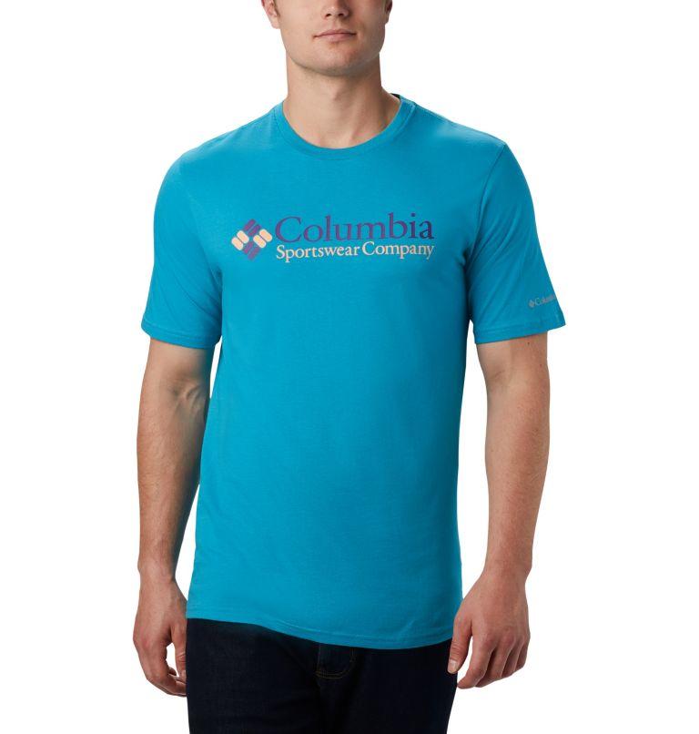 CSC Basic Logo™ Short Sleeve | 451 | L Men's CSC Basic Logo™ Short Sleeve, Clear Water Icon, front