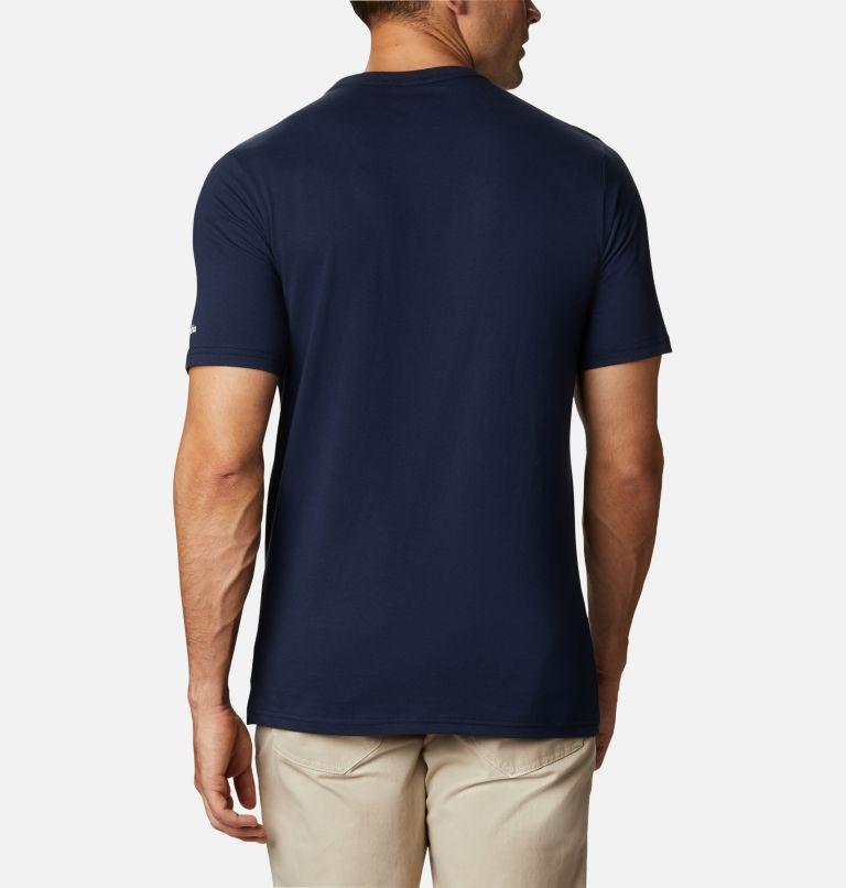 CSC Basic Logo™ Short Sleeve   467   S Men's CSC Basic Logo™ Short Sleeve, Collegiate Navy, White, back