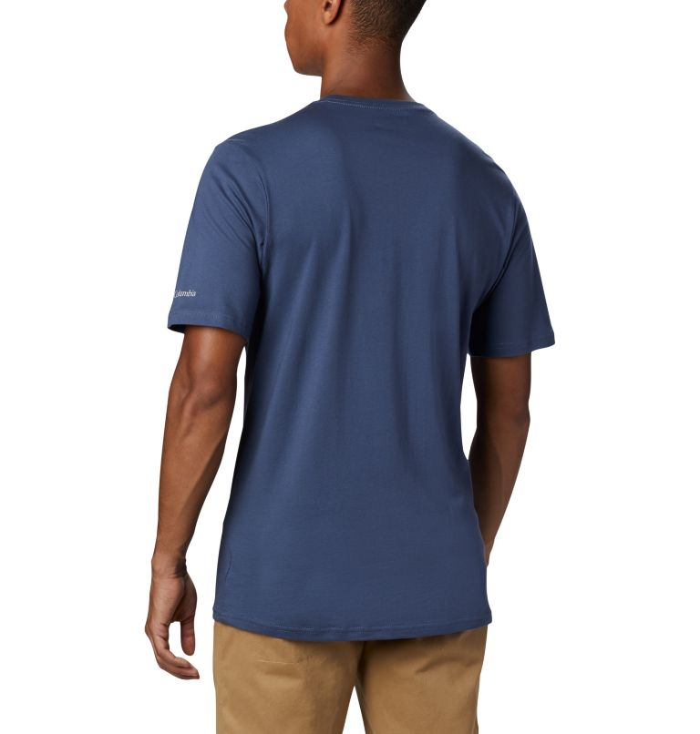 CSC Basic Logo™ Short Sleeve | 479 | M Men's CSC Basic Logo™ Short Sleeve, Dark Mountain, back