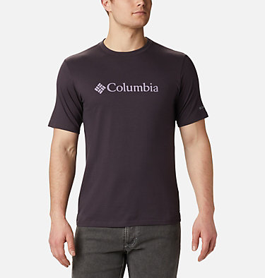 Men's CSC Basic Logo™ Short Sleeve CSC Basic Logo™ Short Sleeve | 010 | XXL, Dark Purple, front