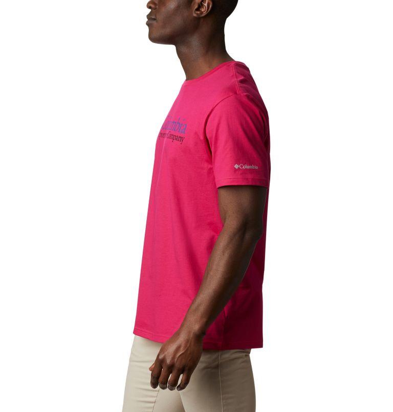 CSC Basic Logo™ Short Sleeve | 612 | XL Men's CSC Basic Logo™ Short Sleeve, Cactus Pink Icon, a1