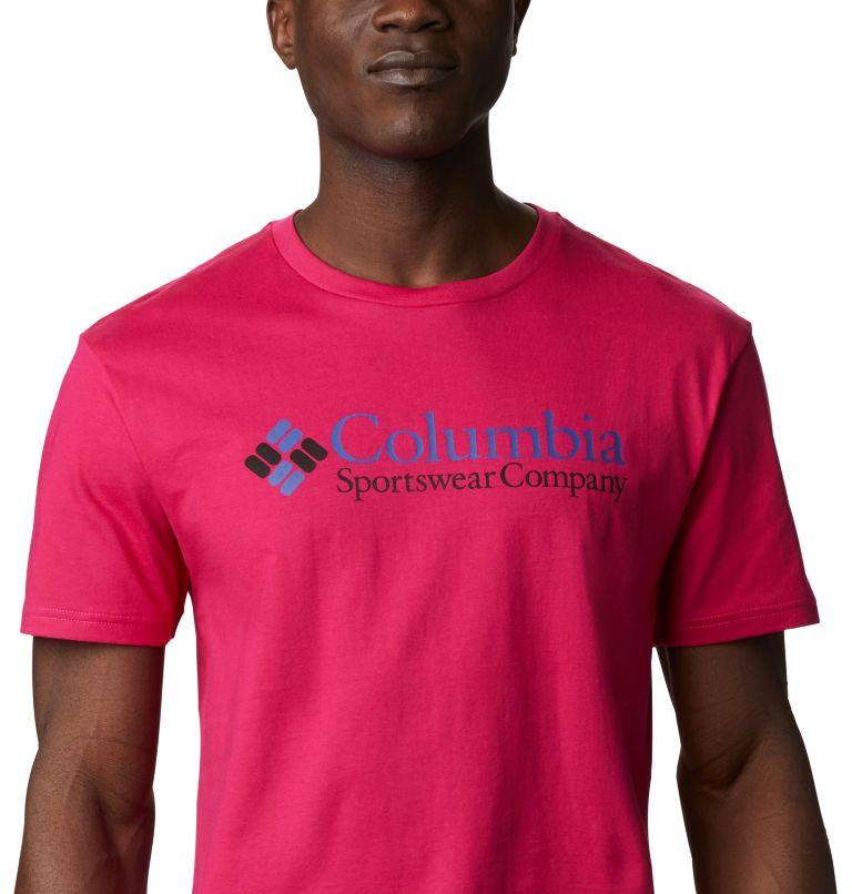 CSC Basic Logo™ Short Sleeve | 612 | XXL Men's CSC Basic Logo™ Short Sleeve, Cactus Pink Icon, a2