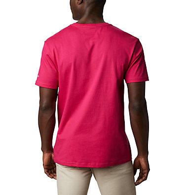 Men's CSC Basic Logo™ Short Sleeve CSC Basic Logo™ Short Sleeve | 103 | XL, Cactus Pink Icon, back