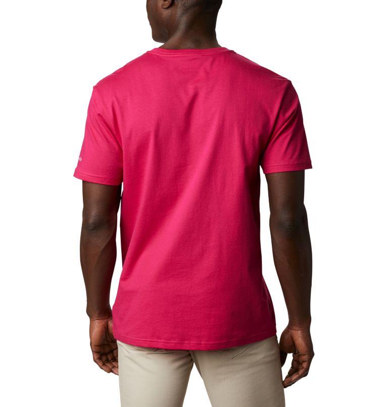 CSC Basic Logo™ Short Sleeve | 612 | XL Men's CSC Basic Logo™ Short Sleeve, Cactus Pink Icon, back