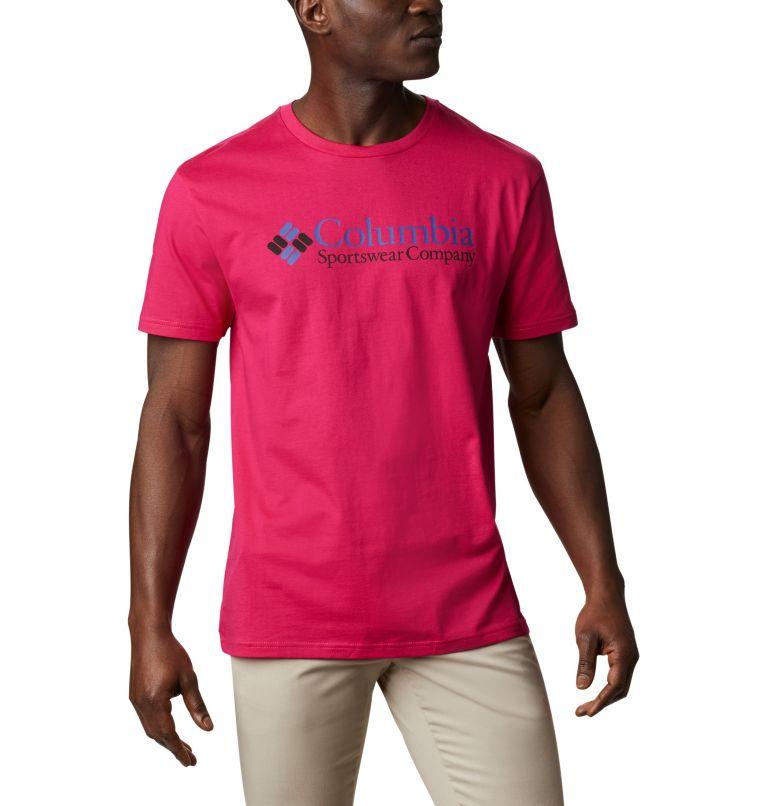 CSC Basic Logo™ Short Sleeve | 612 | XL Men's CSC Basic Logo™ Short Sleeve, Cactus Pink Icon, front
