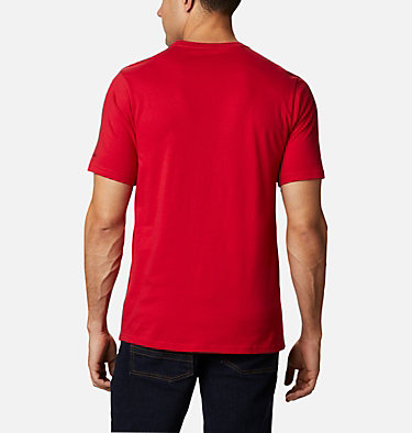 Men's CSC Basic Logo™ Short Sleeve CSC Basic Logo™ Short Sleeve | 010 | XXL, Mountain Red, back