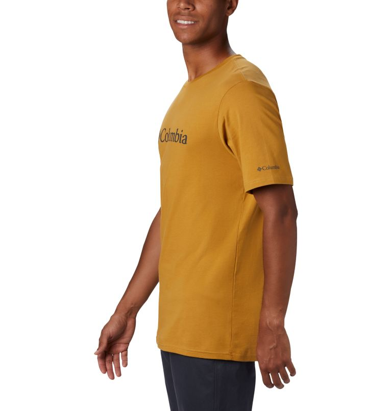 CSC Basic Logo™ Short Sleeve | 734 | XXL Men's CSC Basic Logo™ Short Sleeve, Dark Banana, a1