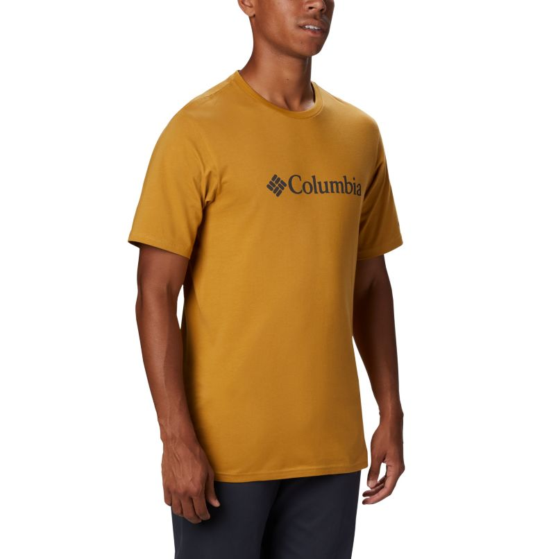 CSC Basic Logo™ Short Sleeve | 734 | XXL Men's CSC Basic Logo™ Short Sleeve, Dark Banana, a2