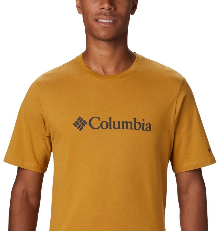 CSC Basic Logo™ Short Sleeve | 734 | XXL Men's CSC Basic Logo™ Short Sleeve, Dark Banana, a3