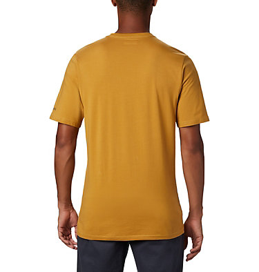 Men's CSC Basic Logo™ Short Sleeve CSC Basic Logo™ Short Sleeve | 103 | XL, Dark Banana, back
