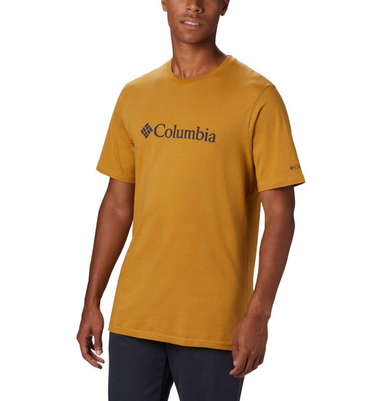 CSC Basic Logo™ Short Sleeve | 734 | M Men's CSC Basic Logo™ Short Sleeve, Dark Banana, front