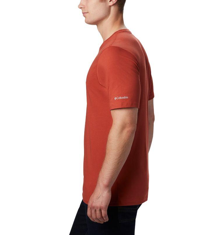 CSC Basic Logo™ Short Sleeve | 835 | S Men's CSC Basic Logo™ Short Sleeve, Carnelian Red, a2
