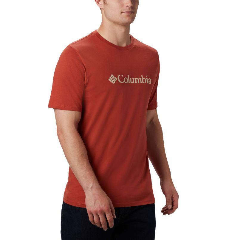 CSC Basic Logo™ Short Sleeve | 835 | S Men's CSC Basic Logo™ Short Sleeve, Carnelian Red, a3