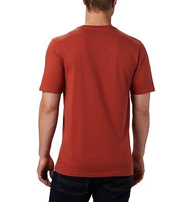 Men's CSC Basic Logo™ Short Sleeve CSC Basic Logo™ Short Sleeve | 103 | XL, Carnelian Red, back