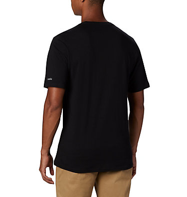 Maglia CSC Basic Logo™ da uomo CSC Basic Logo™ Short Sleeve | 015 | S, Black, back