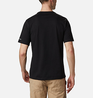 Maglia CSC Basic Logo™ da uomo CSC Basic Logo™ Short Sleeve | 015 | S, Black, CSC Brand Retro, back
