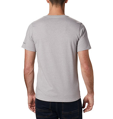 Maglia CSC Basic Logo™ da uomo CSC Basic Logo™ Short Sleeve | 015 | S, Columbia Grey Heather, back