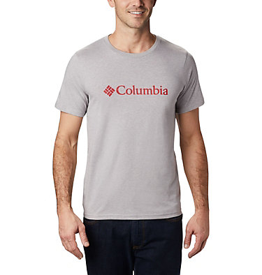 Men's CSC Basic Logo™ Tee CSC Basic Logo™ Short Sleeve | 010 | S, Columbia Grey Heather, front